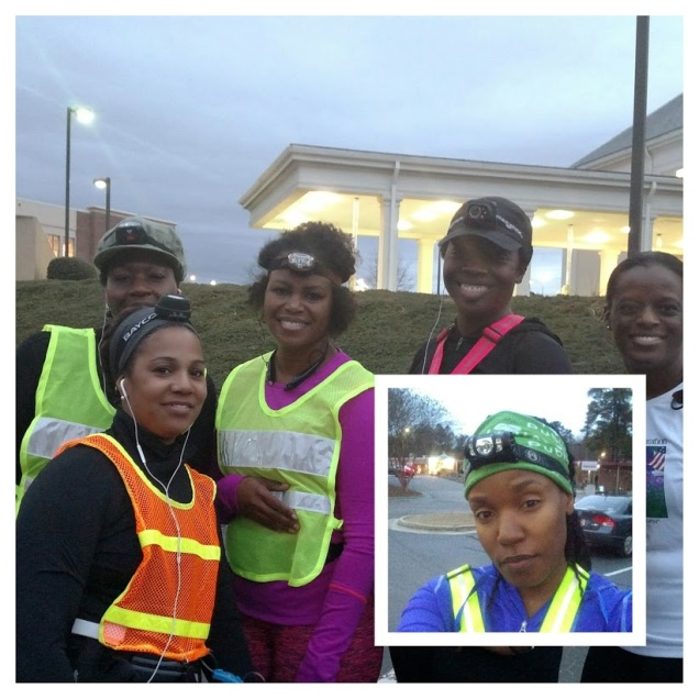 Penelope, Crystal, Sherry, Shonta', Jaton and I ready to beast up and down Trenholm Rd.
