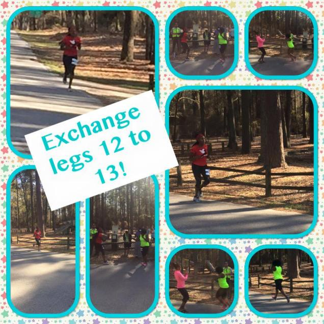 Exchange Van 2 to Van 1