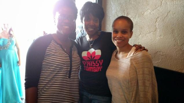 Karen, Yvonne and I