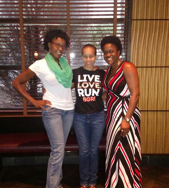 Yvonne, Karen and I....